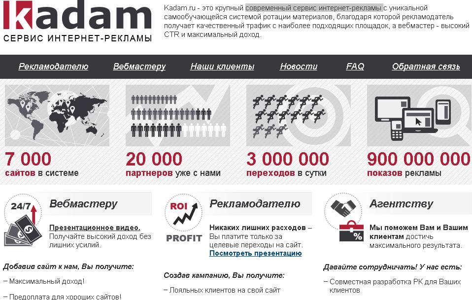 Kadam обзор