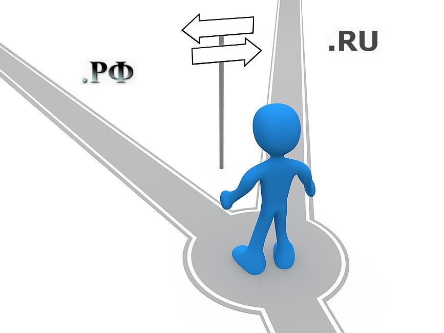 выбор рф или ru