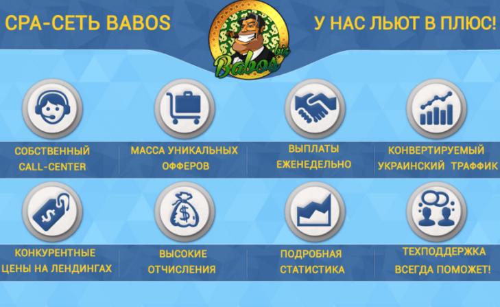 babos торговая СРА сеть