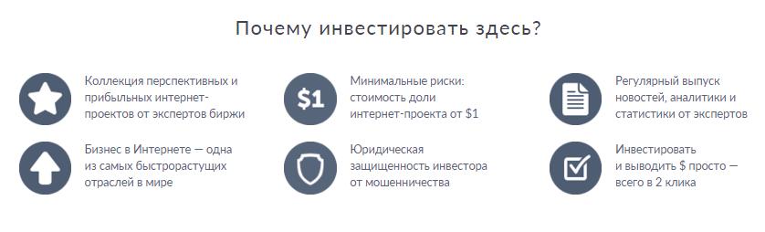 ShareInStock выгоды от инвестирования