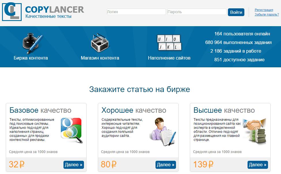 CopyLancer обзор